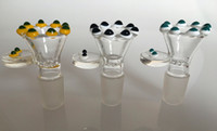 Wholesale Glass Bowl smoking bowl herb bowl with screen mm male joint