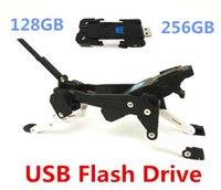 Wholesale Robot Dog USB Flash Drive GB GB GB USB USB USB Sticks Day Dispatch Plastic transformers