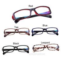 basic eyewear - Hot Sale New Fashion Unisex Modern Rectangular Basic Small Frame Spectacles Nerd Glasses Eyewear Without teh box HM322 M1