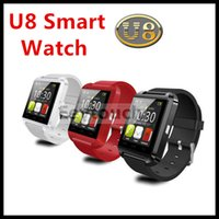 Android apple monitor - 20P U8 U Watch With sleep monitor pedometer stopwatch Bluetooth Smart Watch Wrist Watch For iPhone Samsung HTC Android Smartphones