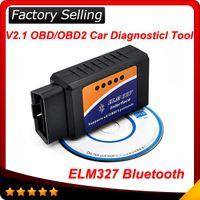 Code Reader auto obd reader - 2016 ELM ELM327 bluetooth OBD OBD2 OBDII Protocols Auto Car Diagnostic Interface Scanner tool