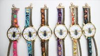bee bangle - Fashion Watches Rhinestone Watches Bee Bracelet Watches Wristwatch Casual For Women Dress Bangle Around Watches