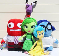 baby anger - Inside Out plush kids toys Movie Anger Plush Stuffed baby toy Doll children gifts for christmas