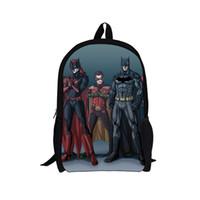 Wholesale 2014 New Design Cartoon Superman Children Backpack Boys Gifts Cool Batman Kids School Bags Shoulder Backpack Girls Hero Bags