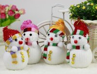 Wholesale Christmas tree decoration ornaments snowman ornaments Christmas decorations s small