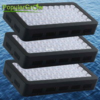 Wholesale 3PC Dimmable W Full Spectrum LED Aquarium Light Marine FishTank Reef Coral
