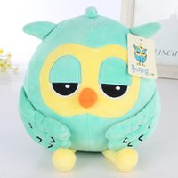 bird toys - 15cm pair cartoon heirs owl plush toy owl soft stuffed Hot sale new brand anmail gifts toy children birthday gift