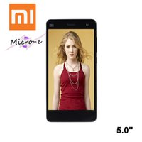 Wholesale Xiaomi4 Quad Core MSM8974 Smart Phone Cell Phone quot G RAM GB ROM MP Camera mAh Android
