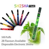 Cheap Shisha Time E Hookah Pipe Pen Electronic Cigarette Pipes Stick Electronic Smoking Cigarette Different Flavors Optional