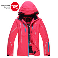 Wholesale winter ski clothing ski jacket women thermal skiing and snowboarding coats woman thicken thermal ski coats for female