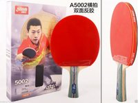 Wholesale Ping Pang Paddle Table Tennis Rackets DHS Grip Star Bat Long Handle FS