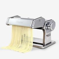 Wholesale Household mini pasta machine manual pressing machine pole head mingled split Noodle Tools