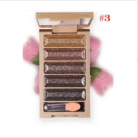 naked palette - 2015 Color Eye Shadow Makeup Professional Naked Palette Super Flash Diamond Eyeshadow Glitter Professional Makeup Set Tools