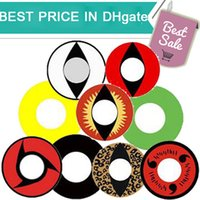 Wholesale 1pair Minimum order pairs Top Halloween contact lenses Crazy contact lenses Cosplay contact lenses PP package DHL shipping