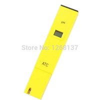 Wholesale New Laboratory Digital Ph Meter Tester Hydro Aquarium Water Pool Measure Hydroponic LCD Monitor Pocket Pen Whoelsale Ctz