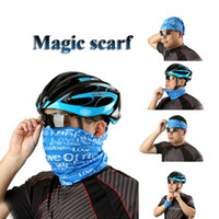 bicycle safety camp - 2pcs Changeable Camping Magic bandanas cycling scarf bike accessories Cycling Bicycle Scarf Hiking Bib sports safety shin guard