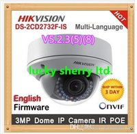 zoom ip camera - V5 Original Hikvision ip camera DS CD2732F IS New High Quality ZOOM lense MP HD IR security network ip dome cameras support POE
