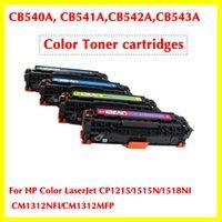 Wholesale CB540A A A A color toner cartridge for HP Color LaserJet CP1215 N NI CM1312NFI CM1312MFP