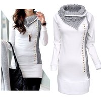Wholesale Womens Casual Long Sleeve Pullover Hoodie Jacket Sweater Coat Hooded Jumper Tops