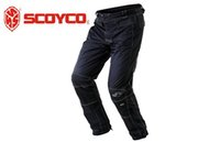 Wholesale HOT SALE SCOYCO P017 Motorcycle protective trousers pants car riding pants slacks motorbike Casual trousers hockey pants