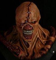 Wholesale Resident Evil tyrant mask Zombie overlord caps Umbrella company G virus zombies