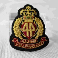 Wholesale Spot imported Balmain hand embroidered suit jacket Down Jacket Badge CM BALMAIN