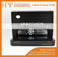 Wholesale Original Box Dvb s2 Libertview F5S Arabic IPTV Channles Support USB Wifi