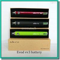 Cheap 1300mAh kanger evod battery Best Evod v v3 1300mah evod passthrough battery