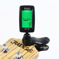 Wholesale Clip on Electric Tuner for Guitar Chromatic Bass Violin Ukulele Universal Portable Guitar Tuner Small and exquisite appearance suitable