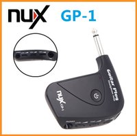 Wholesale NUX Electric Guitar Plug Mini Headphone Amp Built in Distortion Effect Compact Portable Guitar Headphone Amplifier Via DHL