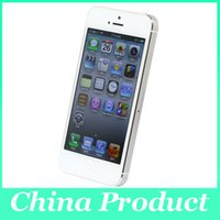 Wholesale Original Apple iPhone Unlocked Cell Phone GB GB ROM GB RAM Dual core GHz IOS MP P quot IPS G WCDMA002831