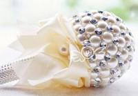 Wholesale Wedding Supplie Wedding bouquets queen size high grade pearl paragraph bride holding flowers D210
