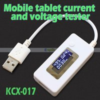 Wholesale LCD USB Mini Voltage And Current Detector Mobile Power Charger USB Tester Meter