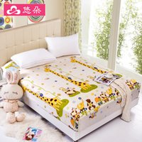 Wholesale You Duo Home Textile Tatami Sleeping Mattress Covers Bed Fitted Sheet Queen Size housse matelas PM002