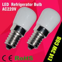 ac mini fridge - New Product E14 W Refrigerator LED lighting mini bulb AC220V V Bright indoor lamp for Fridge Freezer order lt no track