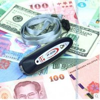 Wholesale Portable mini money detector Ultraviolet currency examination lamp money detector light money detector machine order lt no track