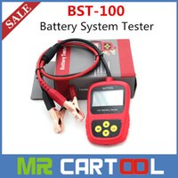 car tester - 2015 New arrival Sale Professional Car Battery Tester BST100 Battery Analyzer BST better than launch bst460 World