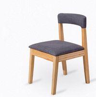 Wholesale Wood Bar Chair Restaurant Furniture Colors Available Contemporary Style Fabric Cushion Bar Chair Wooden Modern Chair Bar