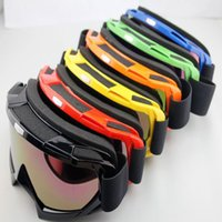 Wholesale Adult motocross dirt bike ATV motorcycle cross country ski goggles glasses color lens color