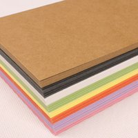 Wholesale 2016 New Hot x10CM blank kraft paper blank DIY kraft paper Blank greeting cards Western Blank letterheads Message Card