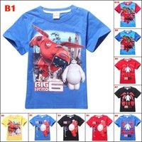 frozen tshirt - Big Hero Tshirts Y Cotton Frozen Spiderman Despicable Minions Cars Lightning McQueen Ninja Turtles Martha and the Bear Tshirt