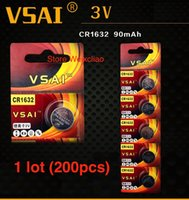 alarm for motorcycle - CR1632 V Button Cell Battery for Motorcycle Key Remote Control Safety Alarm Torch VSAI