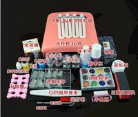 Wholesale Manicure tools set to decorate a armor oil full set of nail art supplies phototherapy machine tool star chloden armour oil glue full set who