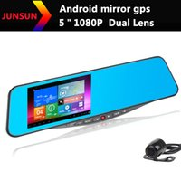 Cheap GPS Navigation rearview mirror Best Android car rearview mirror
