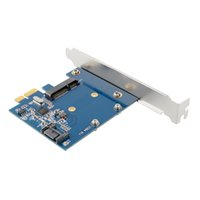 adapter users - New GB S PCI E Express to sata msata ssd extension Control Card Converter Adapter PC With User CD