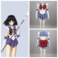 Wholesale Sailor Moon anime cosplay Tomoe Hotaru Sailor Saturn cosplay halloween woman costumes