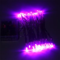 Wholesale 4M LED Battery Operated LED String Lights for Xmas Garland Party Wedding Decoration Christmas Flasher Fairy Lights