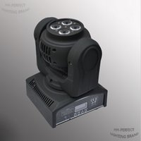 Wholesale 2pcs a factory on sale double face mini led moving head washer Lights w high power dmx512 sound music disco party lights