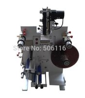automatic bottle labeler - Free ship New Automatic Round bottle labeling machine double labels labeler PLC operation control