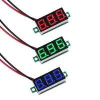 Wholesale for DC V quot Wire LED Digital Panel Volt Meter Voltage Voltmeter Car Motor
